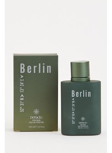 DeFacto Erkek Parfüm İstanbul 100 ml Yeşil
